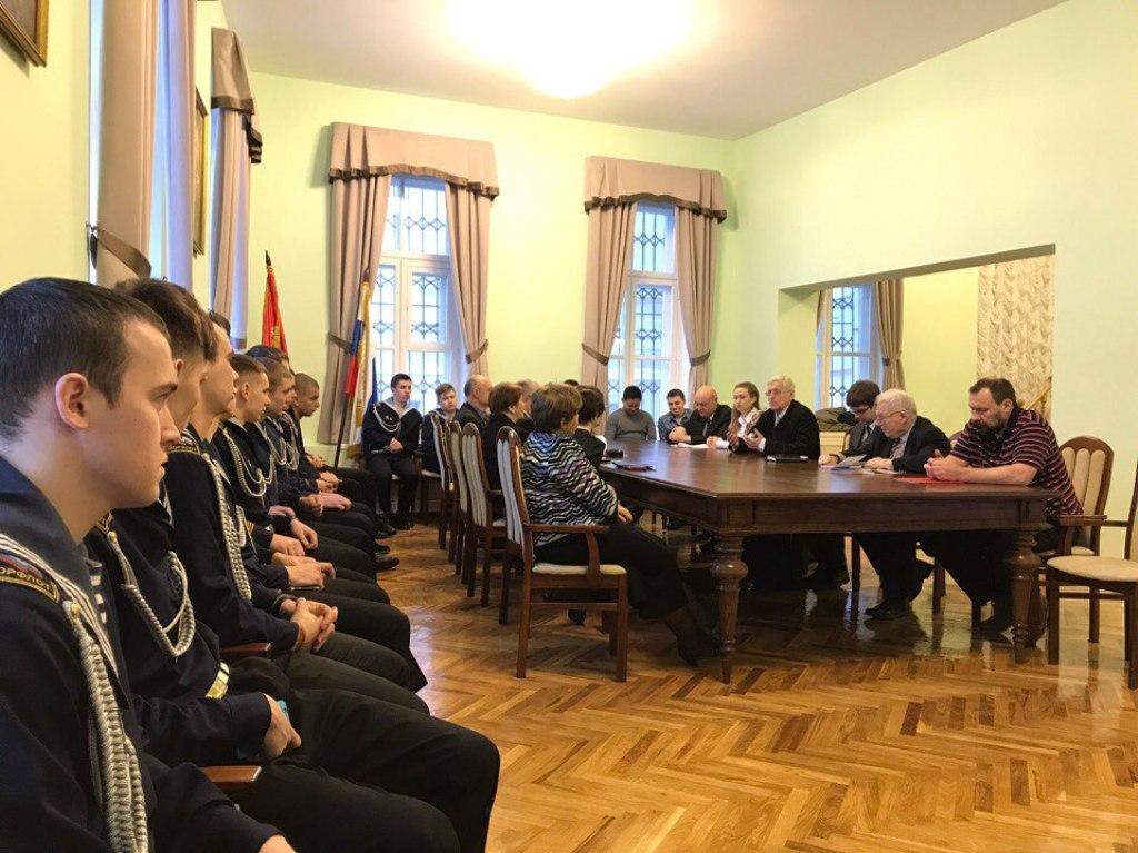 Участие представителей ГУМРФ имени адмирала С.О. Макарова в конференции «Августин Бетанкур»