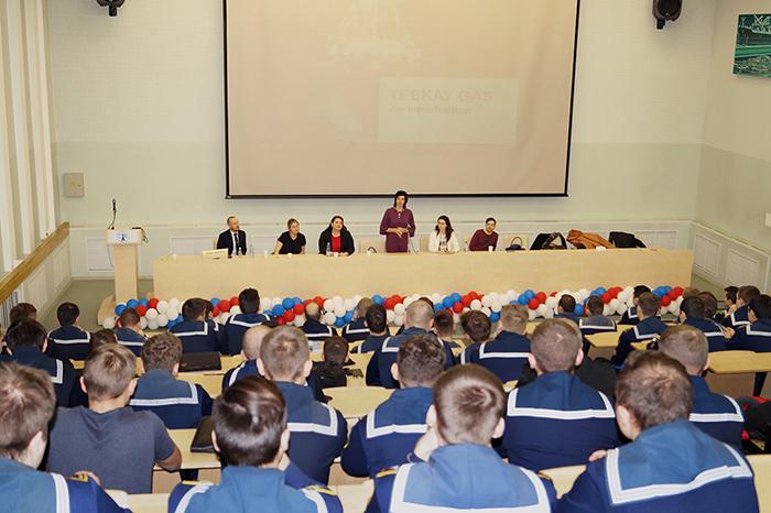 Визит представителей судоходной компании Teekay в ГУМРФ имени адмирала С.О. Макарова