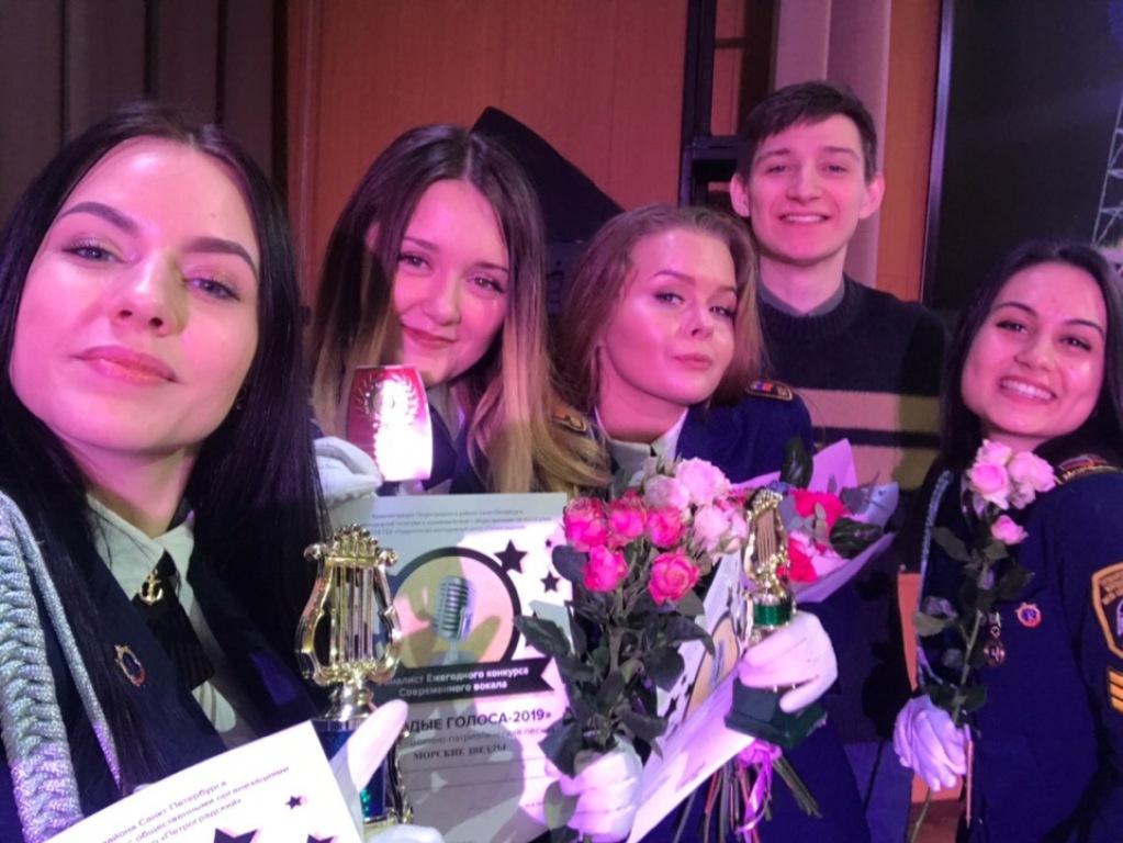 «Молодые голоса – 2019»: самые звонкие – у наших студентов и курсантов!