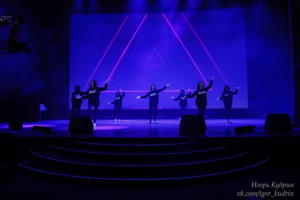 Участие танцевального коллектива нашего университета в межвузовском конкурсе талантов