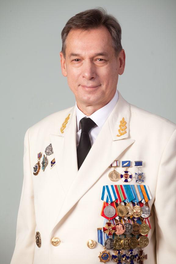 Поздравление ректора ГУМРФ Сергея Барышникова с Новым годом и Рождеством!