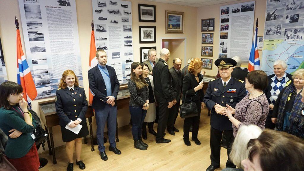 Вместе с шотландской делегацией в Колледже ГУМРФ вспомнили подвиг Полярных конвоев