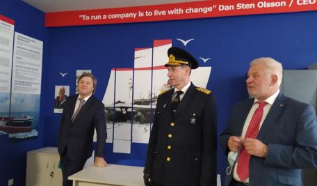 Брендированный учебный класс компании «Stena Bulk» открыт в ГУМРФ